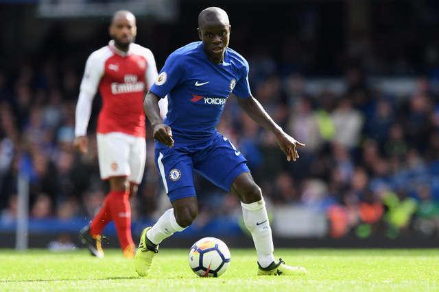 Tiền vệ Kante của Chelsea