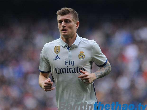 Kroos chính là trái tim của Real Madrid