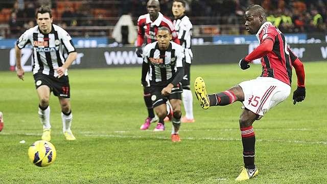 AC Milan vs Udinese ngày 17/9/2017 giải VĐQG Italia Ý - Serie A