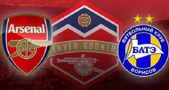 Link xem trực tiếp, link sopcast Arsenal vs BATE đêm nay 29/9/2017 UEFA Europa League