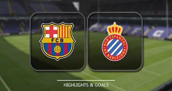 Link xem trực tiếp, link sopcast Barca vs Espanyol ngày 10/9/2017 giải VĐQG Tây Ban Nha La Liga