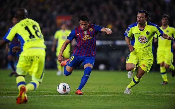 Barca vs Getafe ngày 17/9/2017 giải VĐQG Tây Ban Nha La Liga
