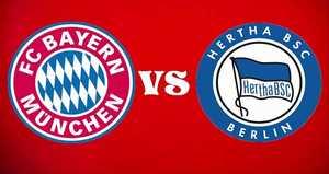 Link xem trực tiếp, link sopcast Bayern vs Hertha tối nay 30/9/2017 vô địch Bundesliga