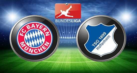 Link xem trực tiếp, link sopcast Bayern vs Hoffenheim ngày 9/9/2017 giải vô địch Bundesliga