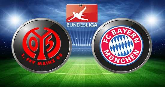 Link xem trực tiếp, link sopcast Bayern vs Mainz ngày 16/9/2017 giải vô địch Bundesliga