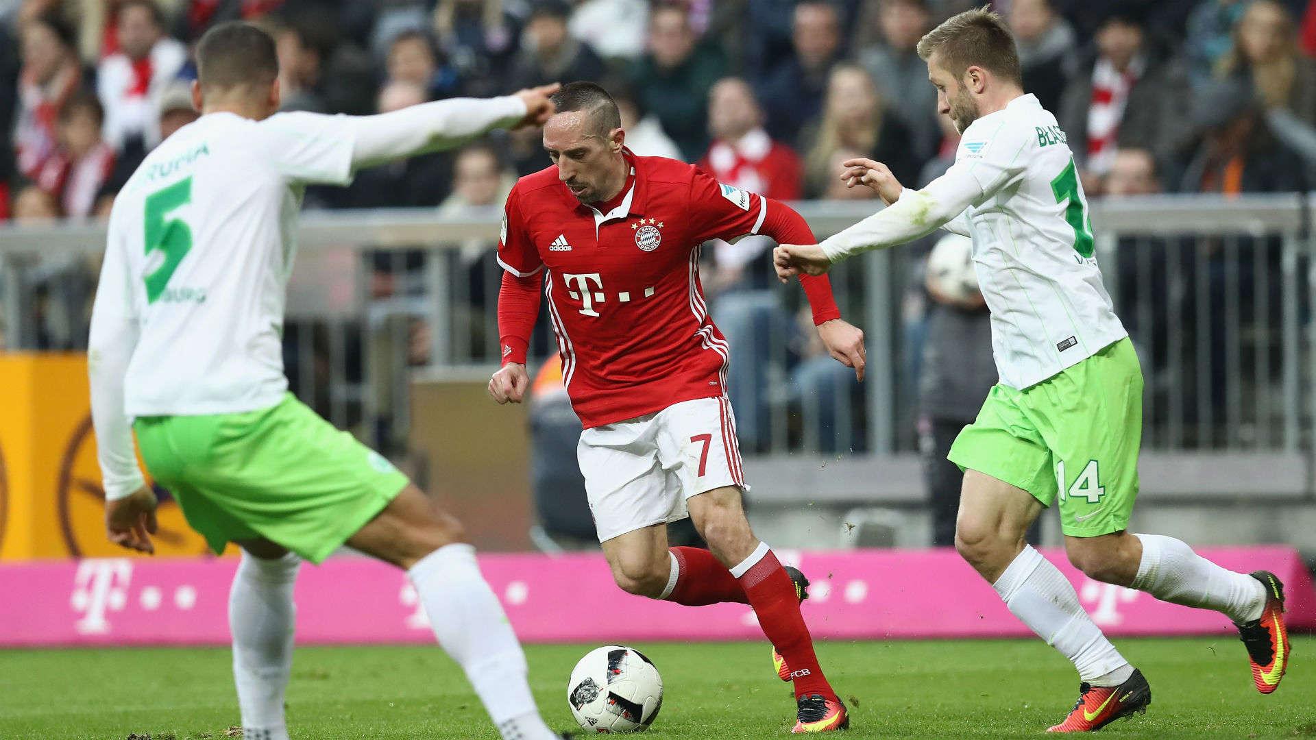 Bayern vs Wolfsburg ngày 23/9/2017 giải vô địch Bundesliga