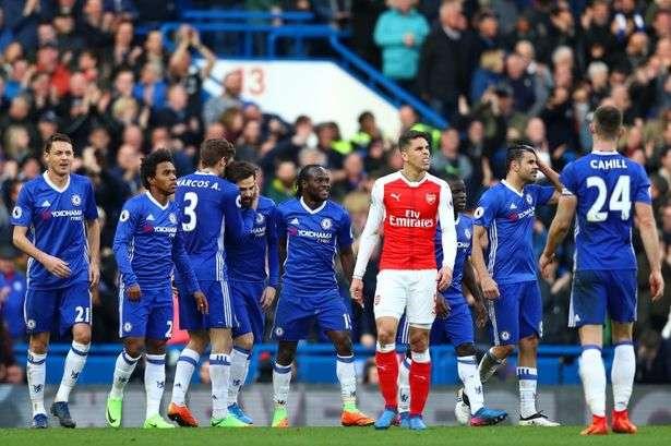 Chelsea vs Arsenal ngày 17/9/2017 giải Ngoại Hạng Anh