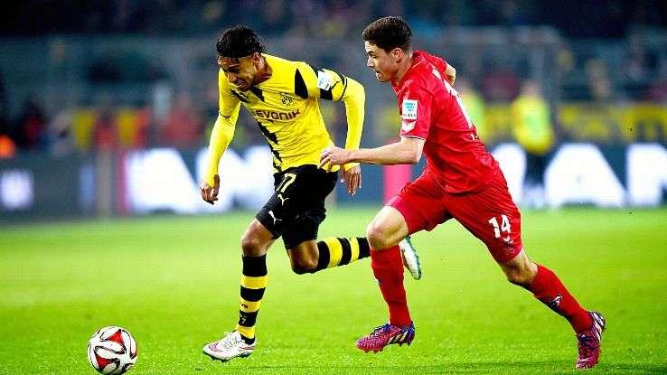Dortmund vs Cologne ngày 17/9/2017 giải vô địch Bundesliga