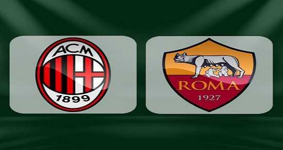 Link xem trực tiếp, link sopcast Milan vs Roma đêm nay 1/10/2017 VĐQG Italia Ý - Serie A