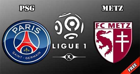 Link xem trực tiếp, link sopcast PSG vs Metz ngày 9/9/2017 giải vô địch Ligue 1