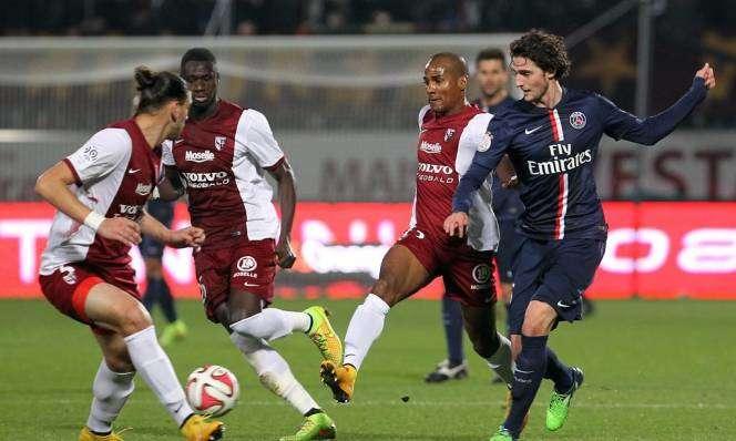 PSG vs Metz ngày 9/9/2017 giải vô địch Ligue 1