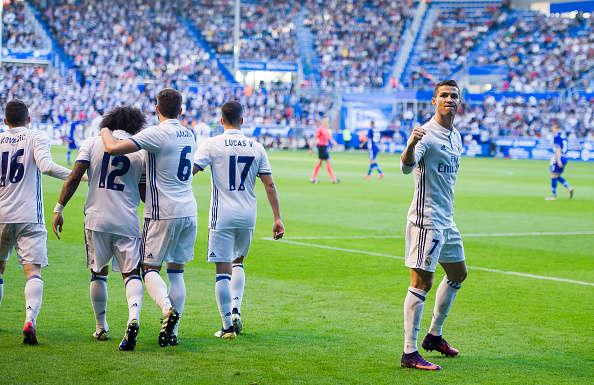 Real vs Deportivo Alavés đêm nay 23/9/2017 VĐQG Tây Ban Nha La Liga