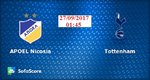 Link xem trực tiếp, link sopcast Tottenham vs Apoel Nicosia đêm nay 27/9/2017 Champions League