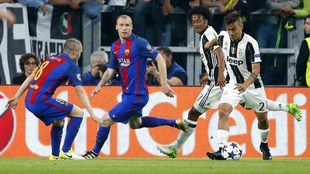 Barcelona và Juventus tái hiện trận chung kết Champions League 2015
