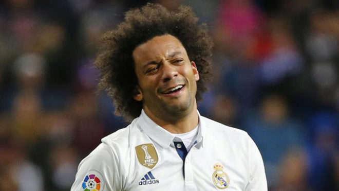 Marcelo không thể ra sân hôm nay vì chấn thương