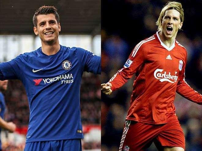 Morata giống Torres một cách kỳ lạ