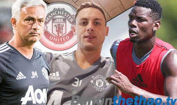 Mourinho đã rất khó khăn để chọn Matic và Pogba là những người đá chính
