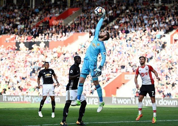Pha bắt bóng đẳng cấp của De Gea trong trận thắng Southampton cuối tuần qua