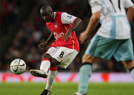 Diarra chỉ có một năm gắn bó với Arsenal