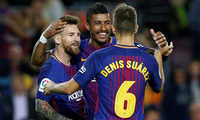 Messi thăng hoa, Barca đại thắng ở vòng 5 La Liga