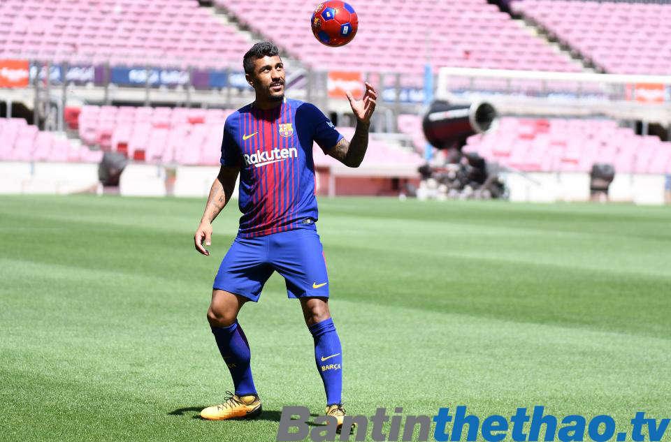 Paulinho sẽ là cầu thủ quan trọng với Barca trong tương lai