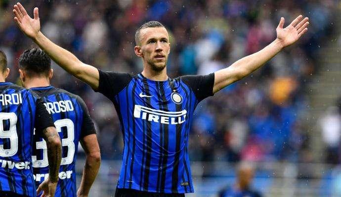 Perisic ghi bàn ấn định tỉ số 2-0 cho Inter Milan