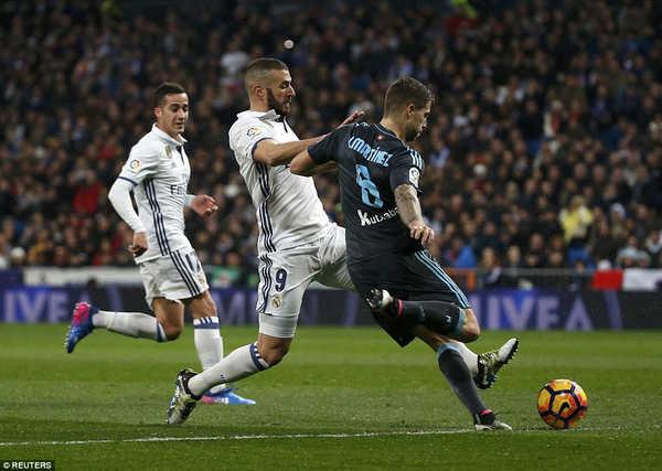 Real Madrid có ngắt được chuỗi trận toàn thắng của Sociedad?