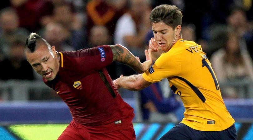 Roma 0-0 Atletico Madrid: Níu chân nhau tại Olimpico