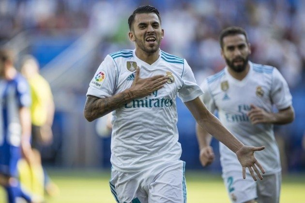 Ceballos hoàn tất cú đúp giúp Real Madrid giành trọn 3 điểm