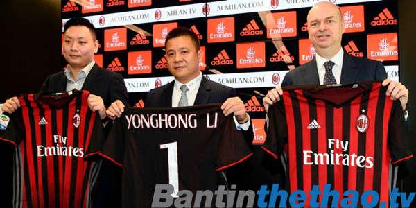 Những đồng tiền của doanh nhân Li Yongho vẫn chưa mang đến những tín hiệu tích cực cho Milan