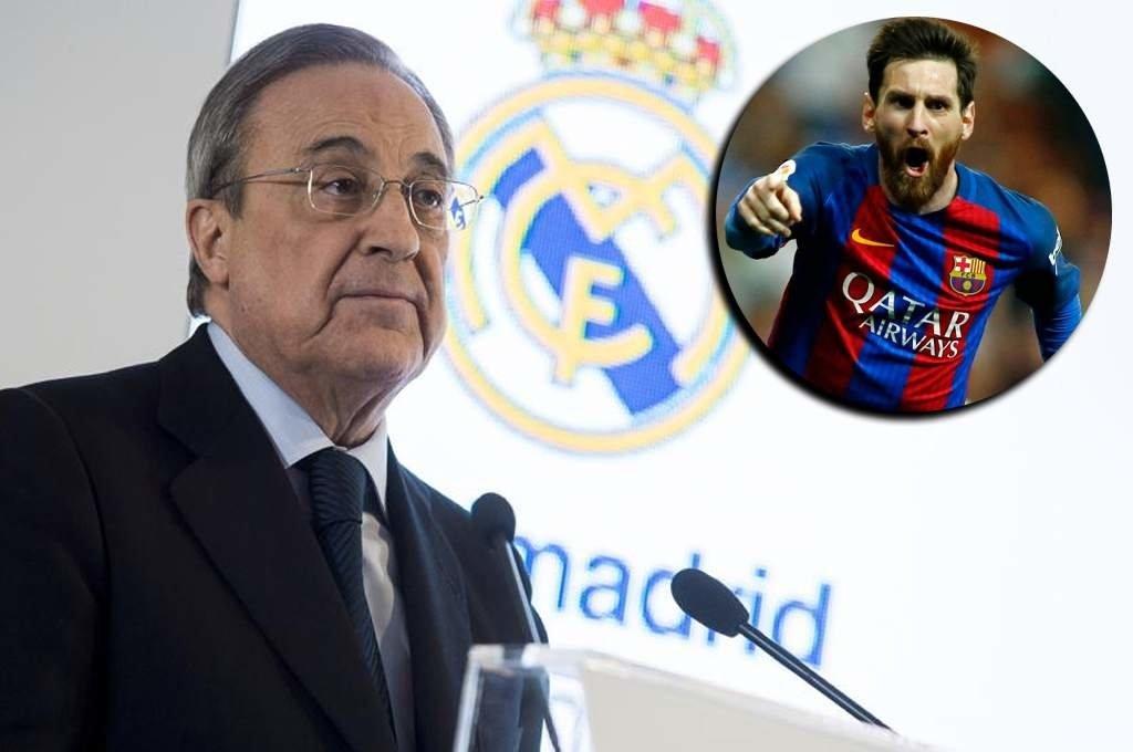 Ông Perez thừa nhận lúc này khó có thể chiêu mộ được Messi