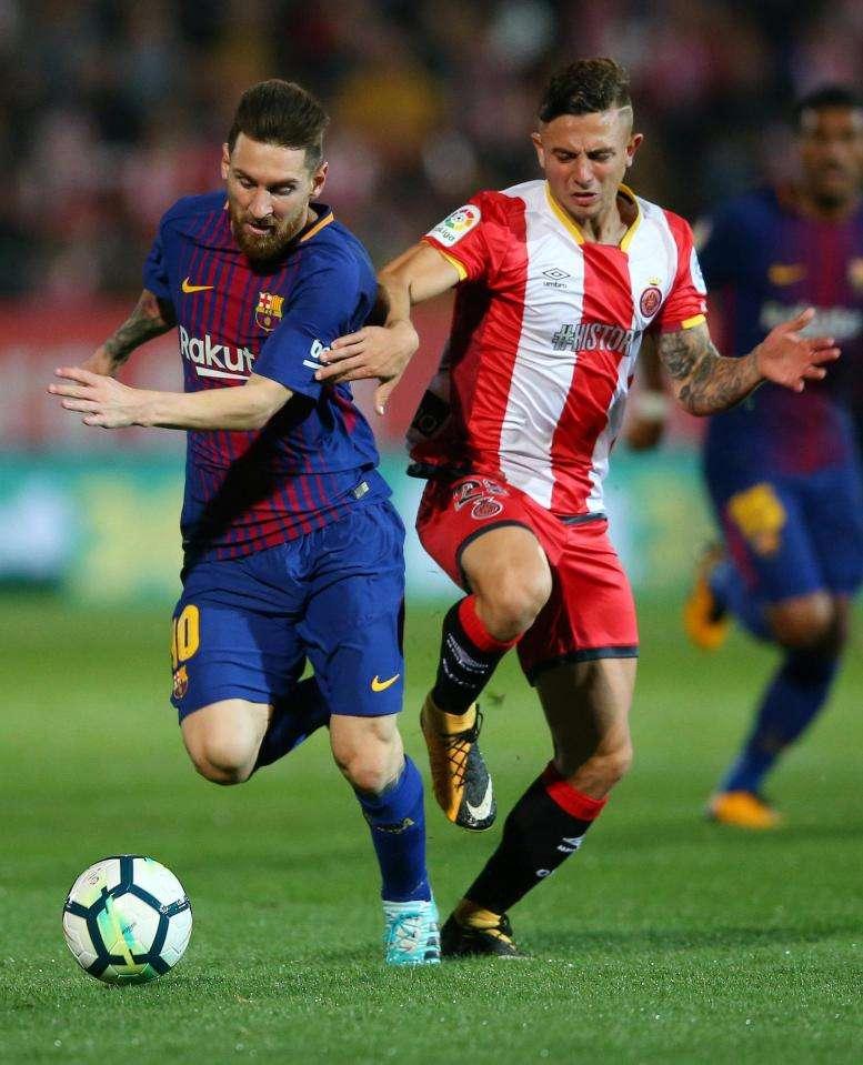 Maffeo từ chối đổi áo với Messi Pablo Maffeo, hậu vệ của Girona đã từ chối đổi áo với Messi ở trận thua 0-3 trước