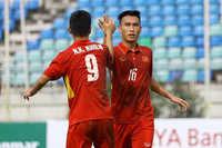 U18 Việt Nam chiến thắng tưng bừng trước U18 Indonesia