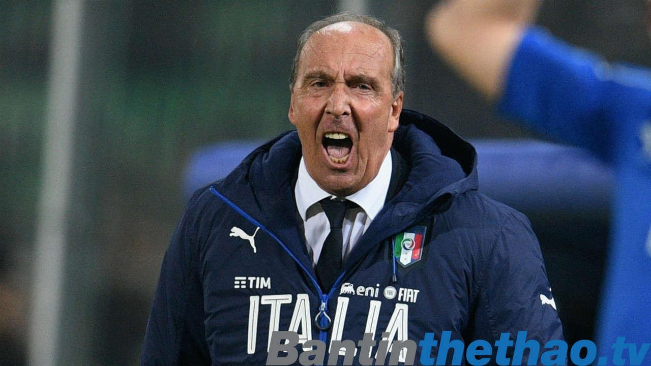 HLV Ventura tự tin cho rằng Italia sẽ có mặt ở VCK World Cup tại Nga năm sau