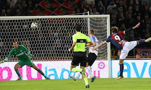 Simone Verdi lập tuyệt phẩm khiến Inter đứt mạch thắng