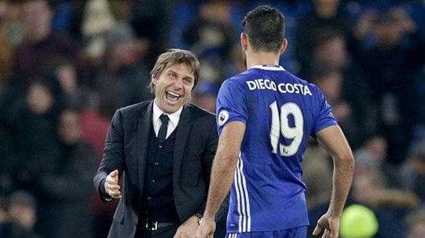 HLV Antonio Conte đã nhắn tin cho Diego Costa với đại ý rằng anh không còn nằm trong kế hoạch mùa tới