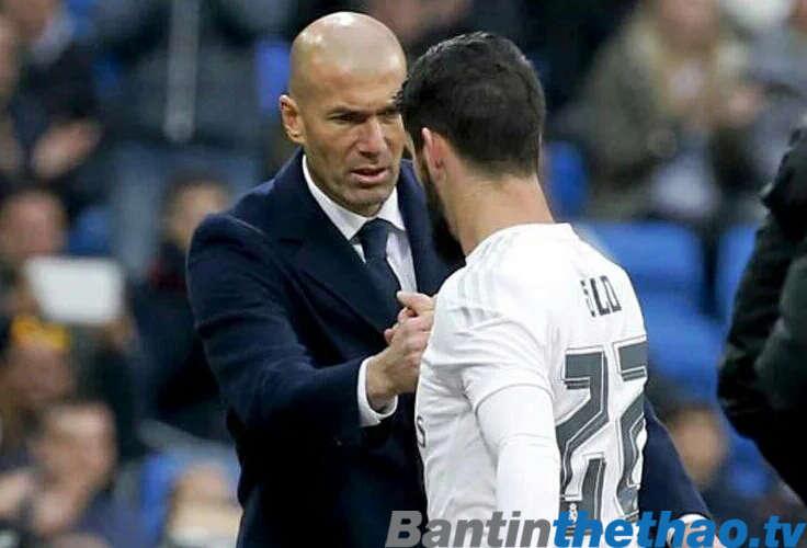 Zidane luôn có niềm tin sắt đá vào cậu học trò người Tây Ban Nha