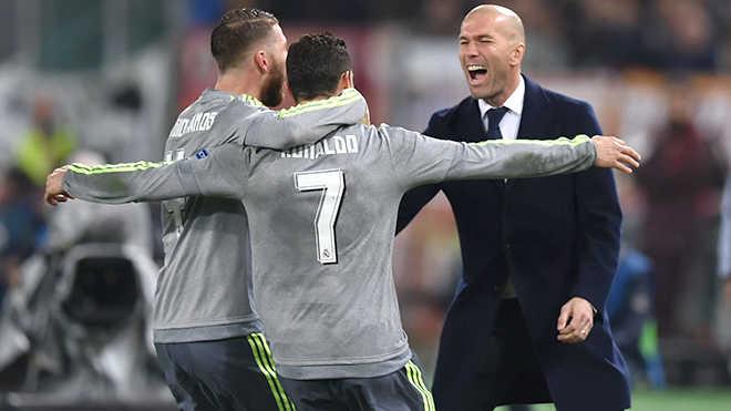 HLV Zidane đã tìm lại nụ cười chiến thắng cùng Real Madrid