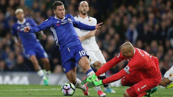 Hazard đã ghi nhiều bàn ở Bournemouth