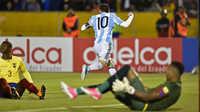 Argentina giành vé World Cup: Tuyệt vời Messi!