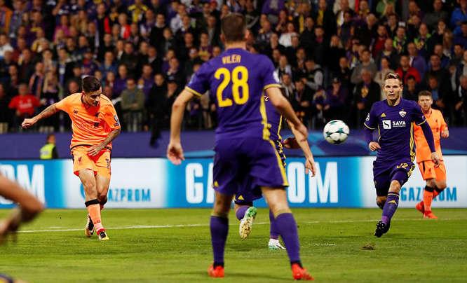 Hàng công Liverpool chơi bùng nổ