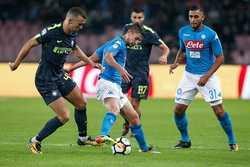 Napoli và Inter Milan chia điểm trên San Paolo