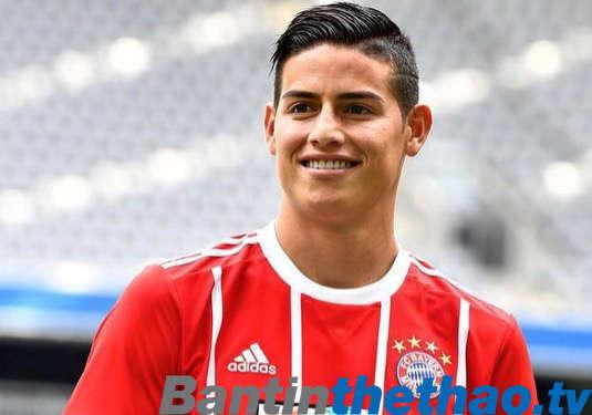 James đang rất chán nản ở Bayern Munich