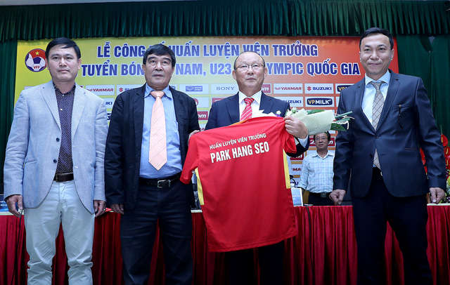 HLV Park Hang Seo đến Việt Nam với sứ mệnh nâng tầm đội tuyển quốc gia