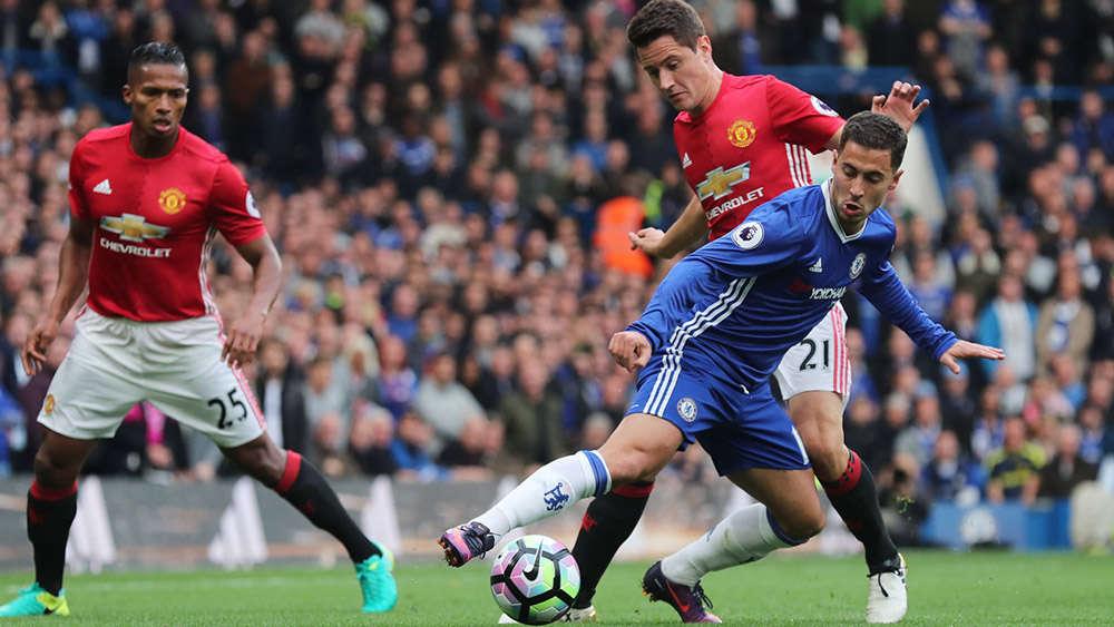 Hazard sẽ cùng Chelsea thách thức MU