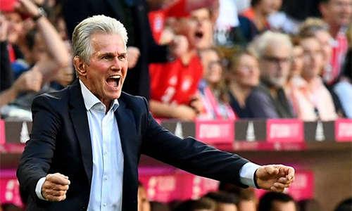 Với Heynckes, Bayern đang trở lại với quỹ đạo quen thuộc của những chiến thắng và ngôi đỉnh bảng