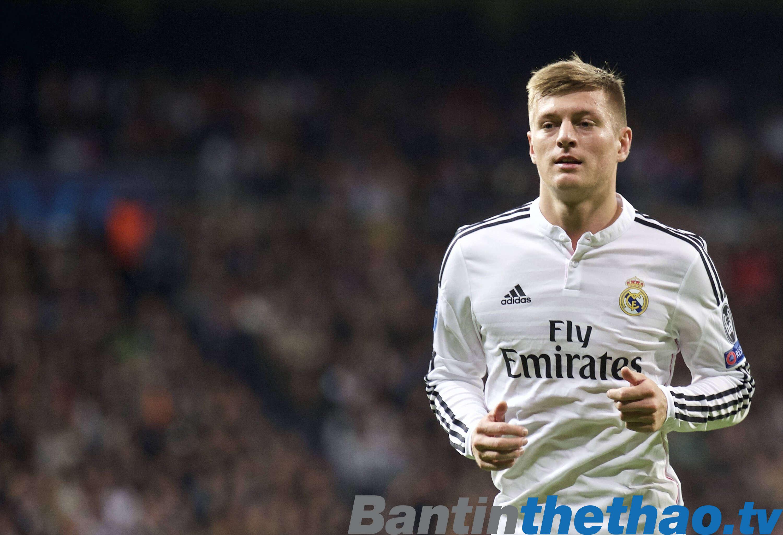 Kroos cho rằng Real sẽ đoạt cú ăn 4 năm nay