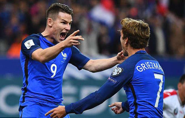 Pháp được đánh giá là sẽ có một trận đấu khó khăn trong đêm nay