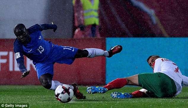 Pháp sẽ không có Kante do chấn thương