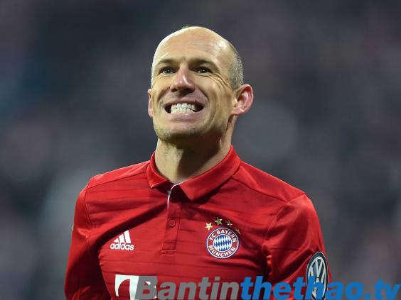 Robben cảm thấy thoải mái dù vẫn chưa được Bayern Munich gia hạn hợp đồng